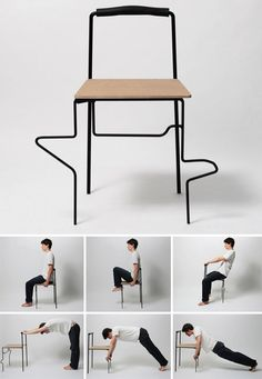 OFFICE GYM | TAI CHI CHAIR