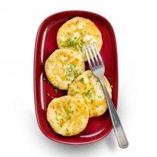Aardappels: Aardappelkoekjes met bieslook en feta