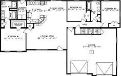 Dogwood Floor Plan - 2335 sq. ft.
