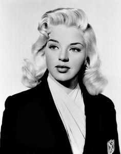"""""""Diana Dors in the 1950s. """""""