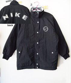 SADBOYS    Vintage 90s Nike Puffy Jacket Hip Hop by lessthanzero,  50.00  Fashion Essentials d7087be9dd0a