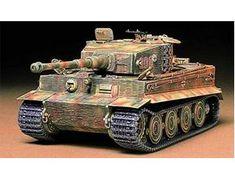Tamiya German Tiger 1 Tank Late Edition 1/35 Scale Plactic Kit | Hobbies