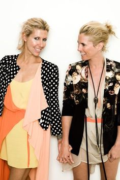 Sarah-Jane Clarke (sass) & Heidi Middleton (bide)
