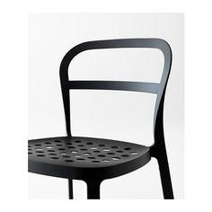 REIDAR Chaise, intérieur/extérieur  - IKEA 45 euros
