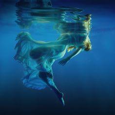 Symphony - Girl in dress underwater