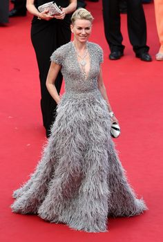 Naomi Watts in Elie Saab Couture. Photo: Andreas Rentz/Getty Images