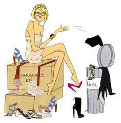 fashionillustr.quenalbertini: by Angéline Mélin