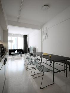 Modern Light Loft Interiors
