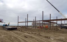 St. Alexius Minot Medical Plaza, Construction Progress, October 2014