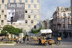 Photo about Coffee shop on a bicycle at market square in Katowice, Poland with a poster of upcoming indoor blues festival. Image of rawa, bicycle, shops - 99844304 One Dish Dinners, Green Beans And Tomatoes, Herb Roasted Chicken, Chicken Breast Recipes Healthy, Healthy Cat Treats, Chicken Potatoes, Shopping Street, 2017 Images, Chicken And Dumplings