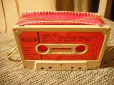 lote 10 cassettes usados para decoración reutilización arte