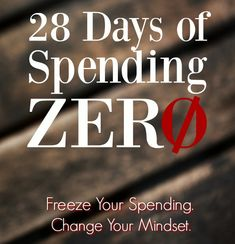 Freeze your spending during our no spend challenge and change your mindset. Learn the keys to spending less and living more!