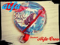 #Carteira em plástico 100% marroquino Http://aifacrew.blogspot.com