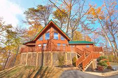 A Rocky Top Escape - 2 Bedroom - Be sure to experience the warm bubbling waters of the hot tub out here on the deck and revel in your beautiful surroundings here in Gods country.