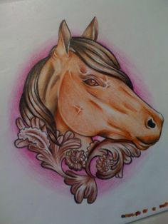 Horse ~Lillybee Ink