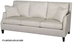 Flexsteel Sofa Hand tailored in our American workshops this Lynn sofa is laid back and