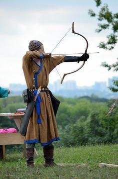 Tatar archer.