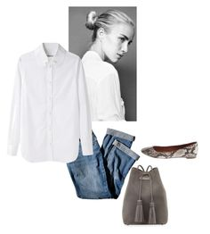 """""""Untitled #579"""" by feryfery ❤ liked on Polyvore featuring Tom Ford, J.Jill, Tsumori Chisato and Madewell"""