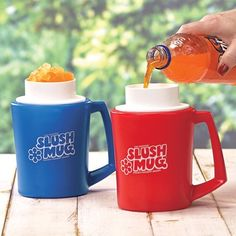 Turn any drink into a slushy in minutes :)