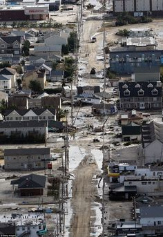 brick nj photos | ... Sandy sits in the middle of a street in Seaside Heights, New Jersey