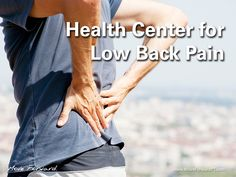 If you have ever experienced low back pain, you are certainly not alone. The good news is that most cases of low back pain are not serious and will respond well to conservative, proven treatments such as physical therapy. Physical therapists can help prevent and manage your low back pain, in many cases, without expensive surgery or the long-term use of prescription medications.