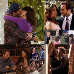 Luke & Lorelai from Gilmore Girls