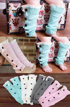 Boot Socks! Baby leg warmers. Baby boot socks.
