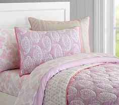 Paisley Wholecloth Quilted Bedding #pbkids