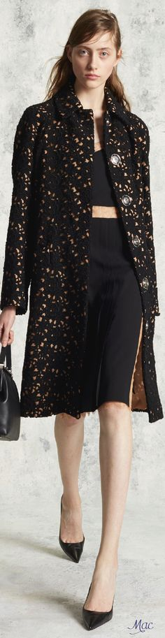 Pre-Fall 2016 Michael Kors. I think I'm getting obsessed with coats!