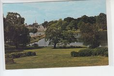 Portsmouth Hospital Grounds Don Sieburg New Hampshire Vintage Postcard | eBay