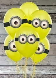 Despicable Me lovers will go bananas over this list of 21 mighty Minion birthday party ideas! From cute treats like Minion pretzels, cookies, cupcakes, and lollipops to clever tips on DIY Minion balloons and a 3rd Birthday Parties, Birthday Fun, Balloon Birthday, Birthday Ideas, Birthday Hats, Yellow Birthday, Minion Balloons, Despicable Me Party, Party Time