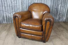 The charismatic new Fairmont armchair offers a true sense of vintage charm. With a curvaceous distinguishable design, a period style is achieved through hand distressed detailing to the upholstery and the close attention that has been paid to the craftsmanship and design of the piece. - See more at: http://www.peppermillantiques.com/art-deco-style-leather-armchair-fairmont/#sthash.8CCvDijT.dpuf