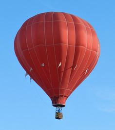 This is a Public Domain picture. balloon, red, hot-air balloon