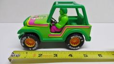 VINTAGE-MARVEL-COMICS-SUPER-HEROES-VEHICLES-INCREDIBLE-HULK-JEEP-1981-WITH-BOX