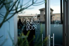 The Slanted Door designed by Manual