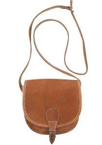 Vintage Saddle Bag Purse