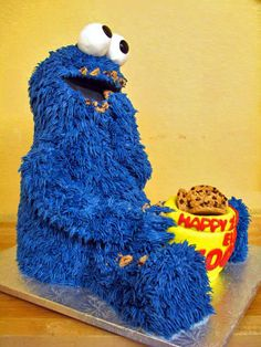 Cookie Monster by Sweet Confections Cakes, via Flickr