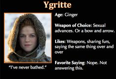 Game of Thrones Trading Cards - Ygritte
