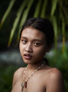 Joey L. - NYC-based Photographer and Director - Siobak Icit, Mentawai tribe, Siberut, Indonesia African Tribal Girls, Native Girls, Tribal Women, Indian Girl Bikini, Forest People, Girl Number For Friendship, Girls Phone Numbers, Indian Photoshoot, Cute Girl Face