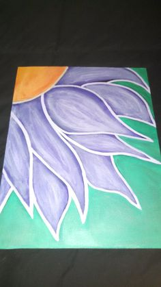 Flower Canvas Art by HappiNessLife on Etsy