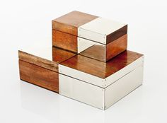 JUNIN BOXES · wood & alpaca metal · AIREDELSUR
