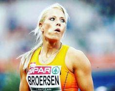 Nadine Broersen, atletismo da Holanda - Foto: Reprodução