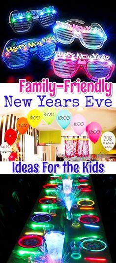 Ideas for Kids on New Years Eve #newyear #NewYears #newyearparty #familyfriendly #ideasforkids #ideasfornewyearseve