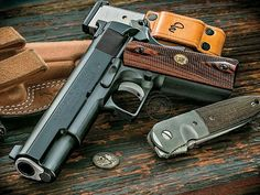Jason Burton Custom Masterpiece of a Colt 1911 Government Model ACP Colt 1911, Colt 45, Rifles, Wilson Combat 1911, Burton Custom, Custom 1911, Custom Guns, 9mm Pistol, Revolver