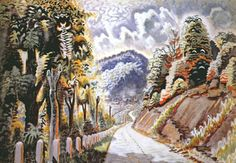 Charles Ephraim Burchfield August Afternoon in the Alleghenies, x cm). Artist Inspiration, Painter, Art Images, Painting, Online Art, New York Art, Art, Charles, American Artists
