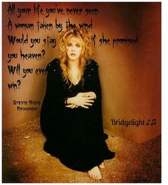 stevie nicks an inspirational artist Lindsey buckingham's alleged abuse of stevie nicks detailed in new book this is art stevie nicks during a heated argument in front of the band in 1987, buckingham, the book says, manhandled stevie.
