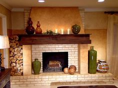 1000 Images About Chimeneas On Pinterest Fireplaces