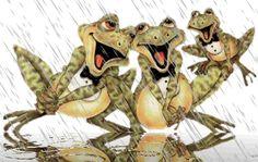 Et il pleut. Bowser, Dragon, Teddy Bear, Humor, Blog, Animals, Fictional Characters, Google, In The Rain