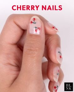 Diy nails 22306960640051390 - Cherry Nail Art Source by Nail Art Designs Videos, Nail Art Videos, Gel Nail Designs, Nail Art Hacks, Nail Art Diy, Cool Nail Art, Cute Nails, Pretty Nails, Cherry Nail Art