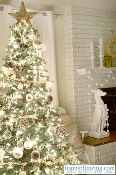 Cozy and Simplye Christmas Tree Decor on the blog - Ornament Showcase http://www.itsoverflowing.com/2012/12/ornament-showcase/ #ornament